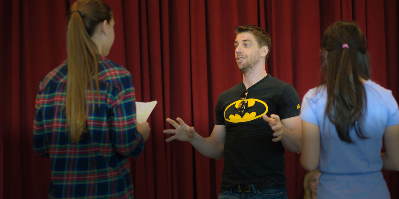Christian Borle The Broadway Artists Intensive